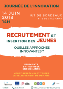 affiche journee innovation iut gradignan